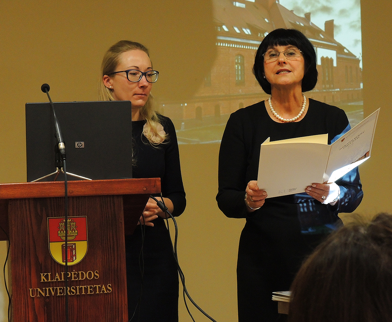 Prof. Elvyra Aciene from Klaipeda University – DrHC at Latvian Christian Academy